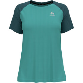 Odlo Essential T-Shirt S/S Crew Neck Women, jaded/balsam